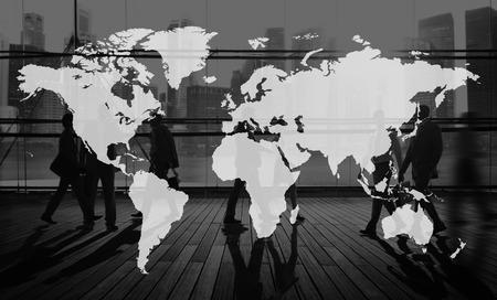 krajina: Svět Global Kartografie Globalizace Země International Concept