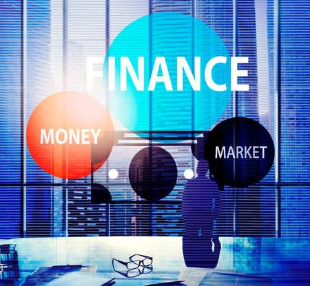 debt goals: Finance Economy Money Market Financial Concept