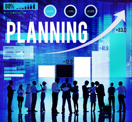 Business people with planning concept
