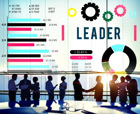 authority: Leader Leadership Authority Coach Concept Stock Photo