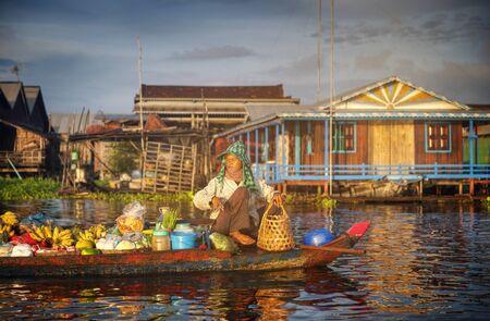 poverty: Combodia Culture Nature Person Poverty Concept Stock Photo