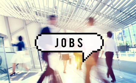 Jobs Werkgelegenheid Carrière Beroep Application Concept