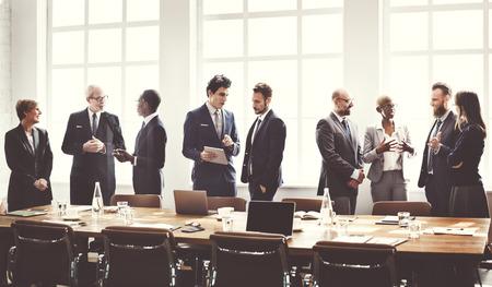 Business Group Meeting Diskussion Strategie Arbeitskonzept