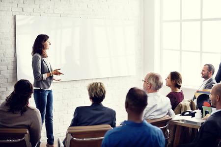 lideres: Aprendizaje Planificaci�n Formaci�n Conferencia de Entrenamiento del concepto del asunto Foto de archivo