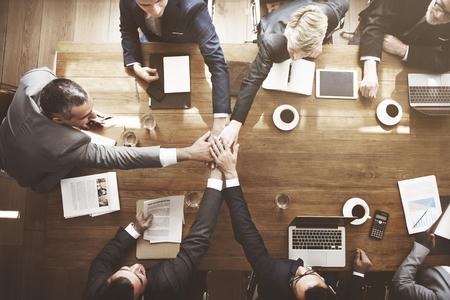 Acuerdo de Participación de negocios Concepto Soporte Seminario