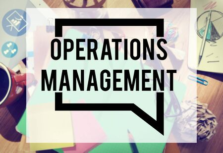and authority: Operations Management Authority Director Leader Concept