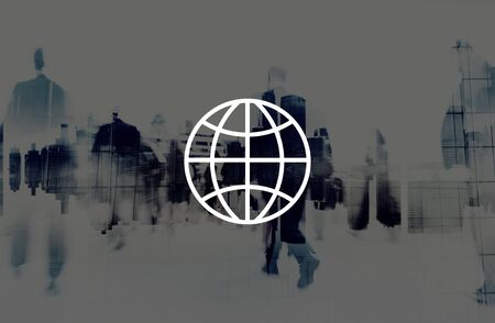 rush hour: Global Community International Worldwide World Connected