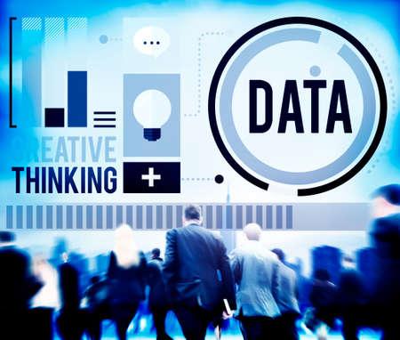 storage: Data Analysis Storage Information Concept Stock Photo