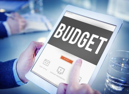fund: Budget Fund Investment Capital Economy Concept Stock Photo