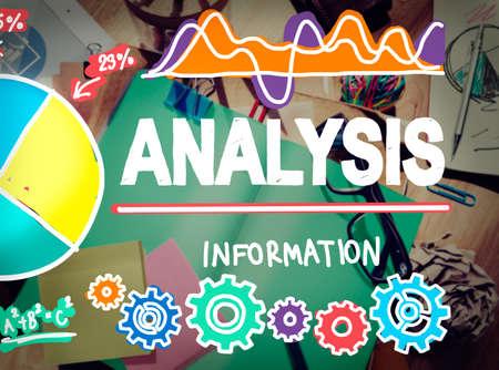 communications tools: Analysis Analytics Analyze Data Information Statistics Concept Stock Photo