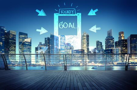 Goal Expectations Aim Opportunity Success Concept Stock Photo