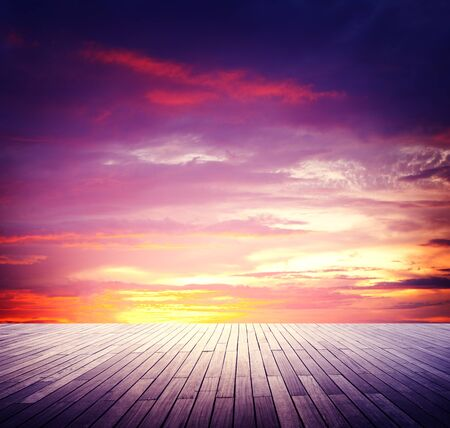 skyscape: Scenic Skyscape Clouds Beauty Outdoors Sunlight Concept Stock Photo