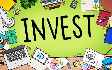 fund: Invest Investment Fund Revenue Income Concept