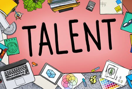 expertise: Talent Gifted Skills Abilities Capability Expertise Concept Stock Photo