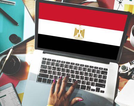 bandera de egipto: Bandera de Egipto Pa�s Nacionalidad Libertad Concepto
