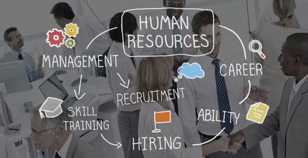 Ressources humaines Recrutement Emploi Concept de carrière Banque d'images - 52265268
