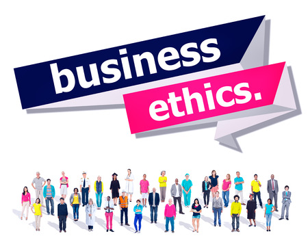 etica: Business Ethics Integrity Honesty Trust Concept