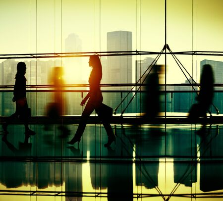 consumerism: Variation People Holding Shopping Consumerism Concept