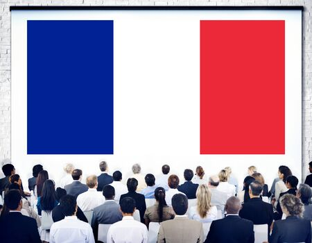 french ethnicity: France Country Flag Nationality Culture Liberty Concept