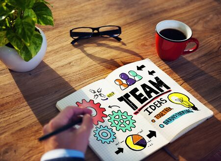 business strategy: Teamwork Team Collaboration Connection Togetherness Unity Concept
