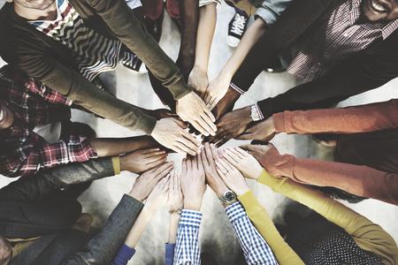travail d équipe: Travail d'équipe Ensemble Collaboration Concept