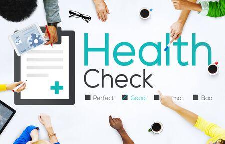 medical condition: Health Check Diagnosis Medical Condition Analysis Concept