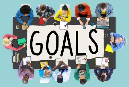 anticipation: Goals Aim Aspiration Anticipation Target Concept