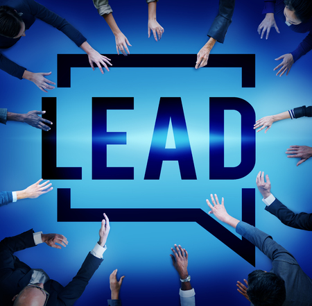 authoritarian: Lead Leader Authority Boss Director Business Concept