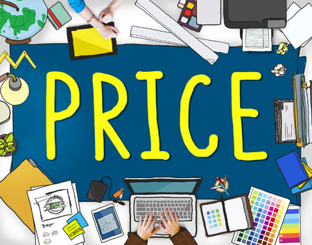 amount: Price Cost Value Money Amount Rate Commerce Concept Stock Photo