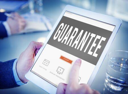 Garantie Garantie Satisfaction Vorteile Customer Concept