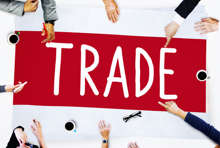 merchandise: Trade Marketing Commercial Merchandise Concept Stock Photo