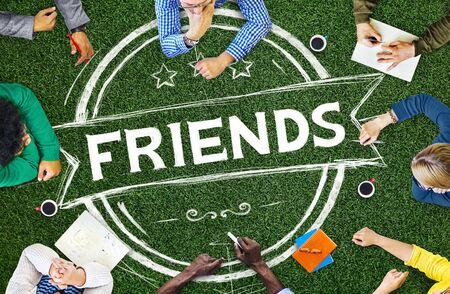 buddy: Friends Friendship Relationship Buddy Concept
