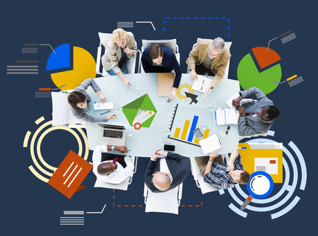 information analysis: Meeting Information Statistics Analysis Report Concept