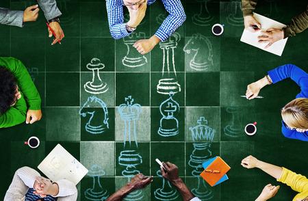 Gra szachownicy gra Sports Concept Zdjęcie Seryjne