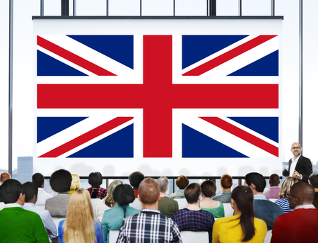 nationality: England Country Flag Nationality Culture Liberty Concept