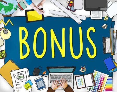 incentive: Bonus Benefit Income Incentive Profit Concept