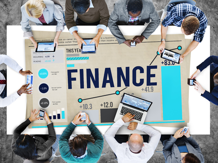 organisational: Finanace Accounting Banking Money Concept
