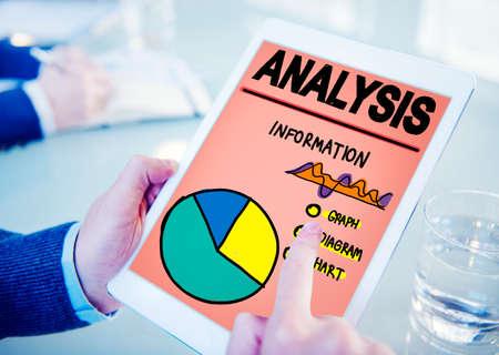 Analysis Analytics Analyze Data Information Statistics Concept Stock Photo