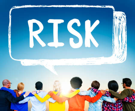 chance: Risk Chance Safety Security Unsure Weakness Concept