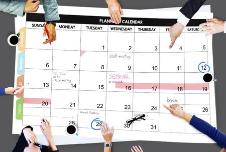 remind: Calender Planner Organization Management Remind Concept