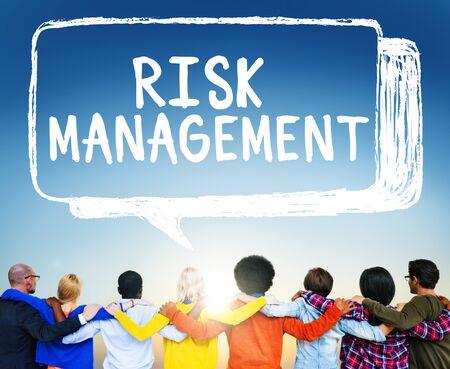 protect: Risk Management Hazard Dangerous Prevent Protect Concept