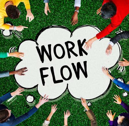 implement: Work Flow Efficiency Implement Process System Concept