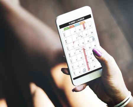 calendario: Calandra Planificador de Gestión de organizaciones Recuerde Concept