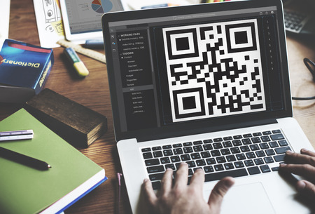 encryption: QR Code Encryption Interface Coding Concept