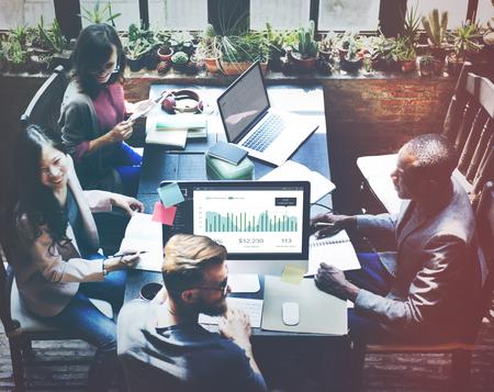 reuniones empresariales: Informe de Estadísticas de las Finanzas Contabilidad Concepto de negocio