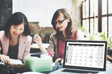 cronogramas: Calandra Planificador de Gestión de organizaciones Recuerde Concept