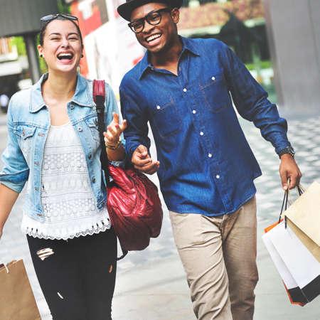 expressive: Shopping Commerce Consumer Customer Expressive Concept Stock Photo