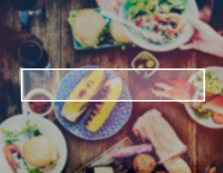 Food Brunch Dining Summer Concept