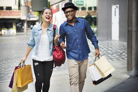 expressive: Shopping Commerce Consumer Customer Expressive Concept Stock Photo