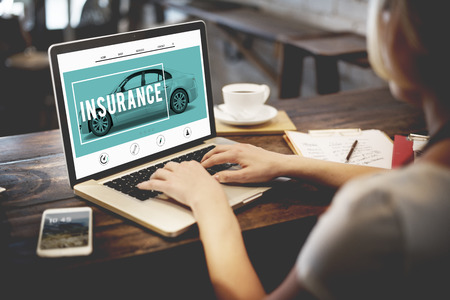Car Insurance Accident Claim Risk Defense Drive Concept Stock Photo
